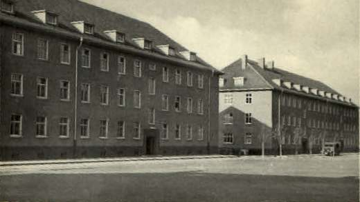Minden Germany  City new picture : Mudra Kaserne as it was known in days gone by.